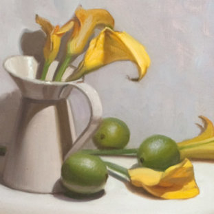 Calla Lilies And Lime