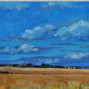Fife Fields In Summer