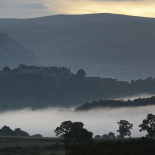 Early Morning Mist Over Stirling