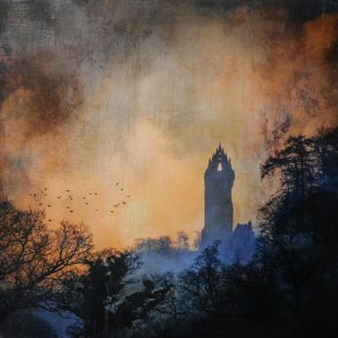 First Light Wallace Monument
