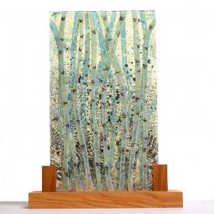 Tall Silver Birch Panel