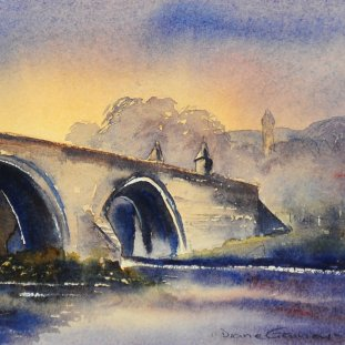 Dusk Over Stirling Bridge