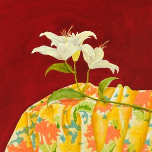 Lily & Wm Morris Fabric