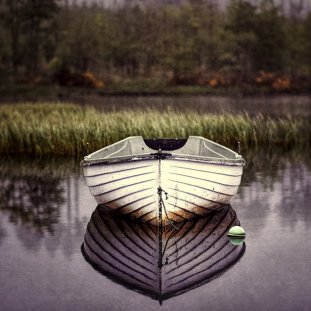 Loch Rusky Boat And Bouy