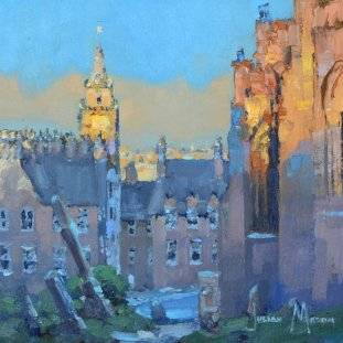 Across Stirling Rooftops