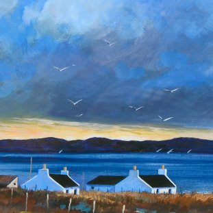 Summer Skies, Waternish, Skye