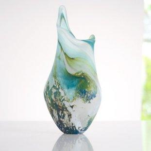 Vase, Wiyde Green