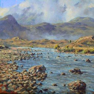 Morning River Sligachan, Skye
