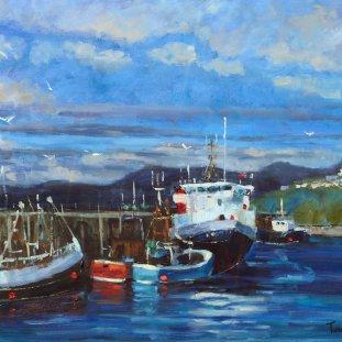 Boats At Mallaig