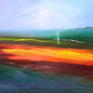 Moonlit Wave, Arran