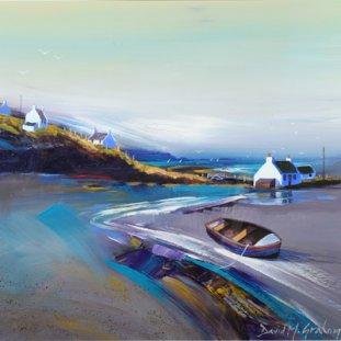Summer Cottages, Coastal Landscape, Lochaber