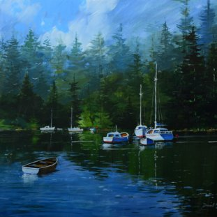 Quiet Morning, Loch Lomond