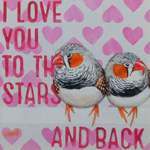 I Love To The Stars & Back