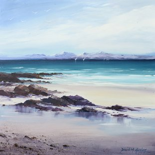 Skye Winter From Arisaig