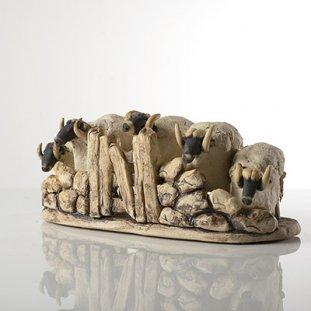 5 Herd Wall & Gate Sheep